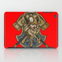 viking iPad Cases featuring Viking by Spooky Dooky