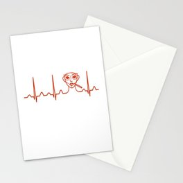 Plastic Surgeon Heartbeat Stationery Cards