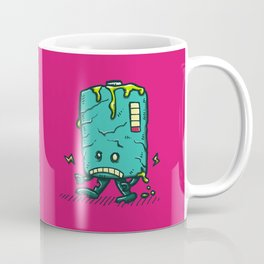 Night of the Living Dead Battery Bot Coffee Mug