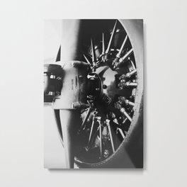 Radial Engine Metal Print