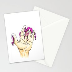 Tentacle Fingers Stationery Cards