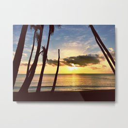 Sunrise Over Vieques Metal Print