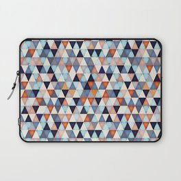 Abstract mosaic triangle colors Laptop Sleeve