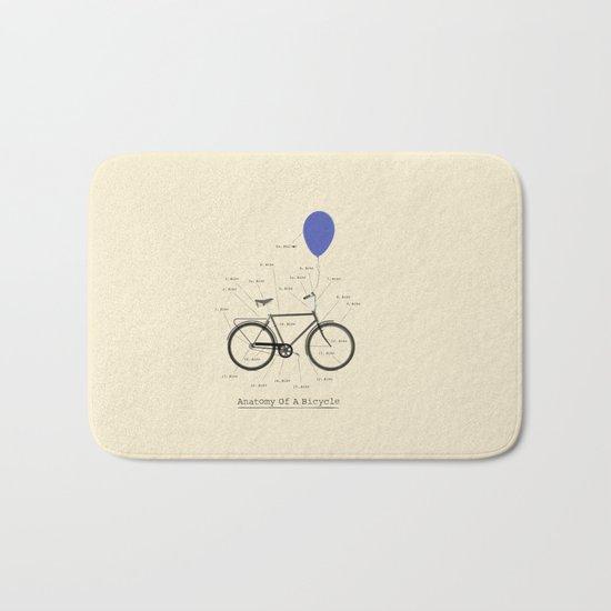 Anatomy Of A Bicycle Bath Mat
