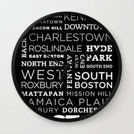 City of Neighborhoods - I Wall Clock
