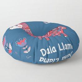 Dala Llama Floor Pillow