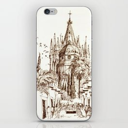 Cathedral, San Miguel de Allende iPhone Skin