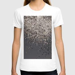 Sepia Glitter #1 #shiny #decor #art #society6 T-shirt