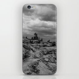 Clouds over the Pacific Crest Trail iPhone Skin