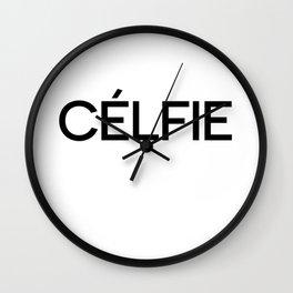 Celfie Wall Clock
