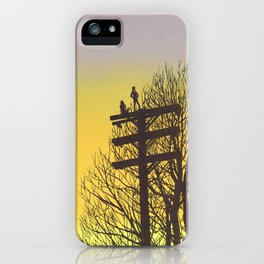 Gone Away iPhone Case