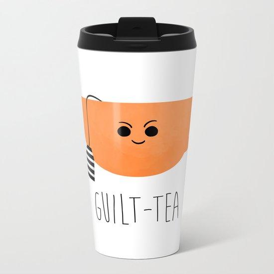 Guilt-tea Metal Travel Mug