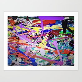 cray Art Print