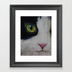 Japanese Bobtail Cat Framed Art Print