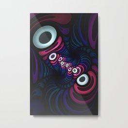 Octo Pie. Abstract Digital Art Metal Print