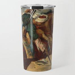 """Théodore Géricault """"Turc monté sur un cheval alezan brûlé"""" Travel Mug"""