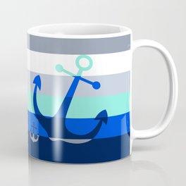 Navy Anchors: Beneath the Sea Coffee Mug