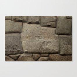 Twelve Sided Inca Stone Canvas Print