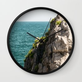 Stairway to nowhere Wall Clock