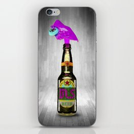 Crazy Beer MultiColor iPhone Skin