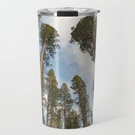 Redwood Sky - Giant Sequoia Trees Travel Mug