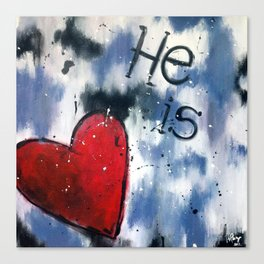 He is Love Canvas Print