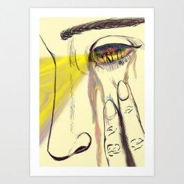 I, Eye, Aye Art Print