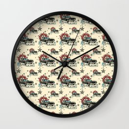 The Road So Far Vintage Wall Clock