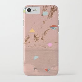Mountain Shapes Pattern iPhone Case