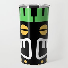 Totem Scary Face Travel Mug