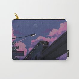 Moonrise twilight Carry-All Pouch