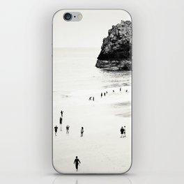 Cornwall beach life iPhone Skin