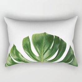 Monstera Clean Rectangular Pillow