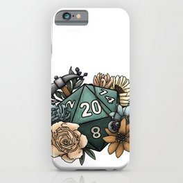 Cleric Class D20 - Tabletop Gaming Dice iPhone Case