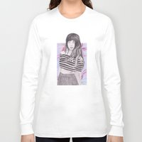 foxes Long Sleeve T-shirts featuring FOXES by Share_Shop