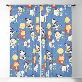 hey diddle diddle Blackout Curtain