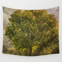 monet Wall Tapestries featuring Morning Fog Monet by Elliott's Location Photography