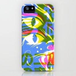 4 Eyed Feline iPhone Case