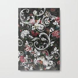 Baroque Bling Metal Print