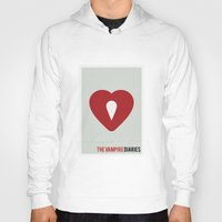 vampire diaries Hoodies featuring The Vampire Diaries - Minimalist by Marisa Passos