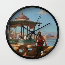 "Jean-Léon Gérôme ""The Harem in the Kiosk"" Wall Clock"