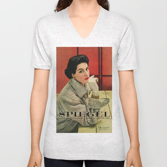 1953 Fall/Winter Catalog Unisex V-Neck