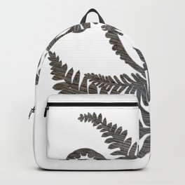 Barn Wood Fern Backpack