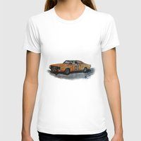 general T-shirts featuring General Lee by AshyGough