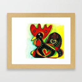 The Portuguese Chick Framed Art Print