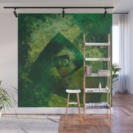 The Endless Green Wall Mural