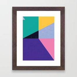 FLEECE, FOG, FARALLON 3 Framed Art Print