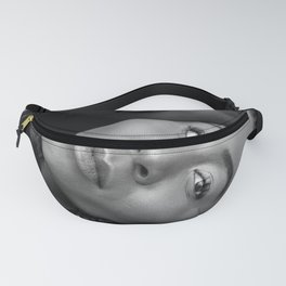 African American Women in black and white Fanny Pack