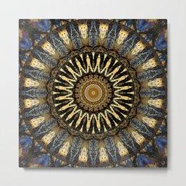 Mandala Depth of the soul no. 2 Metal Print
