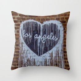 Graffiti Art in Los Angeles Throw Pillow